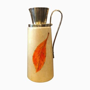 Mid-Century Goat Skin Pitcher by Aldo Tura for Macabo, 1960s