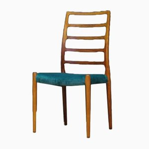 Vintage Danish Rosewood Dining Chair by Niels Otto Møller for J.L. Møllers, 1960s