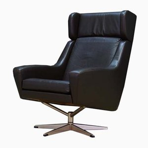 Vintage Danish Swivel Lounge Chair, 1960s