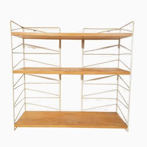 Vintage Swedish Pine Shelving System by Kajsa & Nils Nisse Strinning for String, 1960s