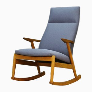 Vintage Danish Rocking Chair, 1970s