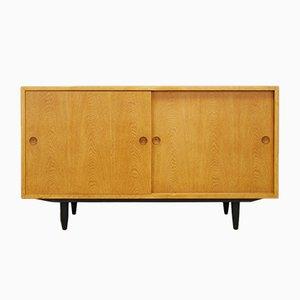 Mueble danés vintage de chapa de fresno de Børge Mogensen, años 70