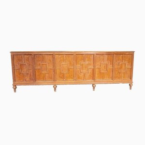 Vintage Pitch Pine Counter