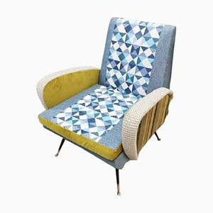 Mid-Century Modern Italian Lounge Chair, 1960s
