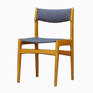 Vintage Beistellstuhl aus Teak, 1960er