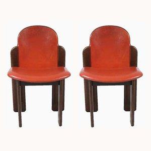 Italienische Vintage Esszimmerstühle, 4er Set