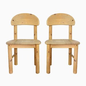 Vintage Dining Chairs by Rainer Daumiller for Hirtshals Savvaerk , 1960s, Set of 2