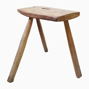 Wooden Stool, 1930s