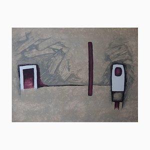 The Door Lithografie von Witold K, 1967