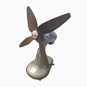 Vintage Ventilator aus Metall, 1960er
