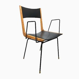 Vintage Italian Boomerang Desk Chair by Carlo de Carli, 1950s