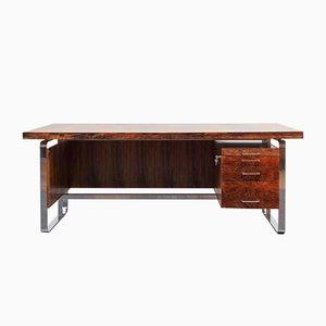 Großer Schreibtisch aus Palisander, 1970er