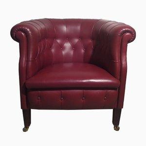 Fumoir Lounge Chair by Renzo Frau for Poltrona Frau, 1980s
