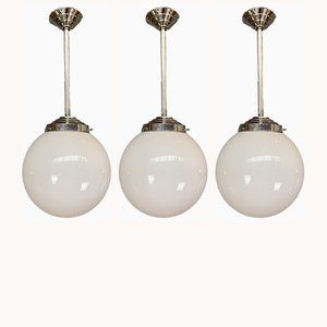 Ceiling Lamps, 1960s, Set of 3