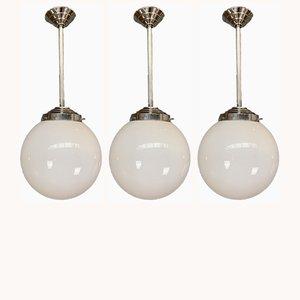 Lámparas de techo, años 60. Juego de 3