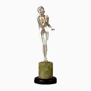 Art Déco Skulptur aus Bronze von Josef Lorenzl, 1930er