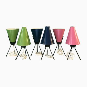 Mid-Century Tripod Table Lamp
