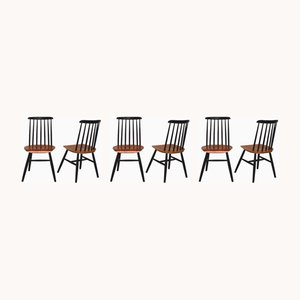 Fanett Dining Chairs from Tapiovaara , 1960s, Set of 6