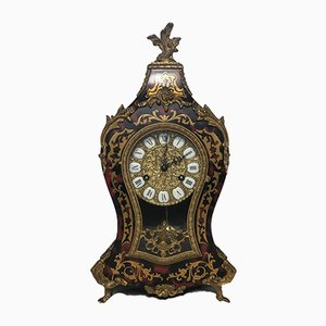 Large Louis XVI Style French Gilt Ormolu Mantel Clock, 1970s