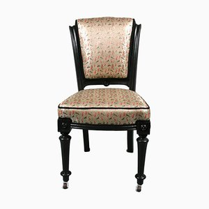 Antique Black Occasional Chair