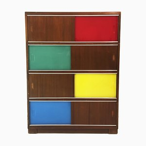 Mid-Century Cabinet with Sliding Doors