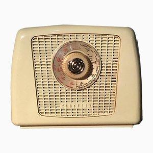 Cremefarbenes Modell 352 Radio mit Gehäuse aus Bakelit von Ferguson Radio Corporation Ltd, 1950er