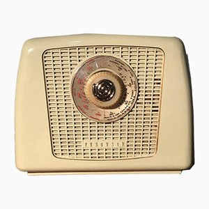 Radio nr. 352 color crema in bachelite di Ferguson Radio Corporation Ltd, anni '50