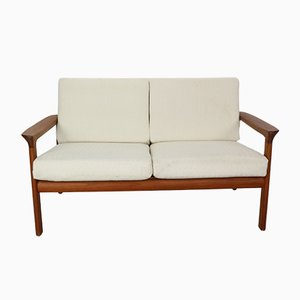Danish Teak Borneo 2-Seater Sofa by Sven Ellekaer for Komfort, 1960s