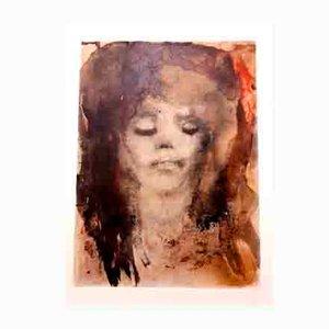Litografía Red-Haired Girl de Leonor Fini, 1964