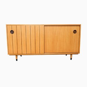 Elm Sideboard by Erich Stratmann for Oldenburger Möbelwerkstätten / Idee Möbel, 1950s