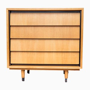 Elm Dresser by Erich Stratmann for Oldenburger Möbelwerkstätten / Idee Möbel, 1950s