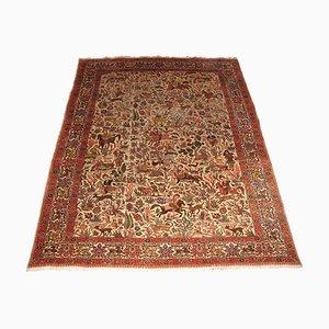 Orientalischer Vintage Teppich mit Jagdszene, 1960er
