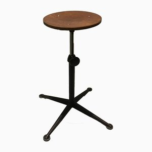 Vintage Industrial Stool by Friso Kramer for Ahrend De Cirkel, 1960s