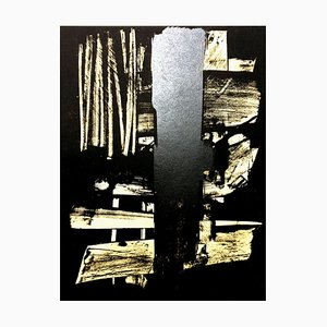 Lithograph by Pierre Soulages, 1959