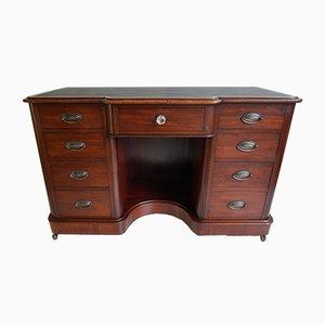 Antiker Schreibtisch oder Frisiertisch aus Mahagoni