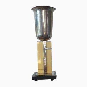 Lámpara de mesa francesa Art Déco, años 30