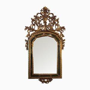 Goldener antiker Spiegel