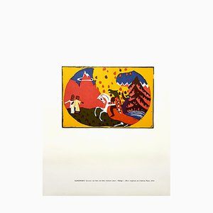 Aguafuerte Horse Knight de Wassily Kandinsky, 1966