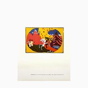 Horse Knight Radierung von Wassily Kandinsky, 1966