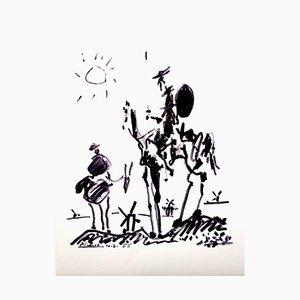 Don Quixote Lithografie von Pablo Picasso, 1955