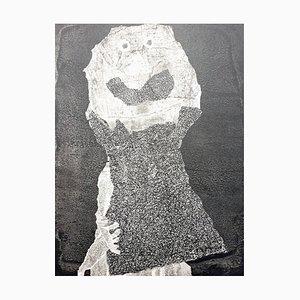 Affiche Pochoir Homme par Jean Dubuffet, 1960