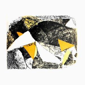 Lithographie Cheval et Cavalier par Marino Marini, 1963
