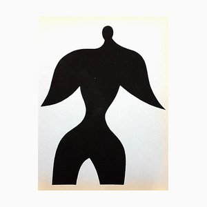 Pochoir Print by Jean Arp, 1957