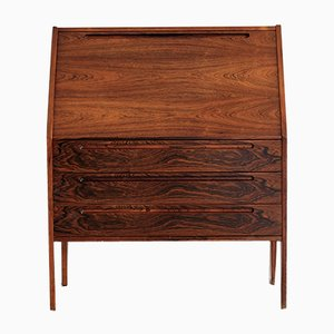 Vintage Rosewood Secretaire by Nils Jonsson for HJN Mobler, 1960s