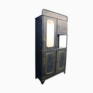 Mueble de hierro de Carlo Crespi Parabiago para Carlo Crespi Parabiago, años 40