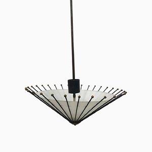 Lampada da soffitto Mid-Century di Angelo Lelli per Arredoluce, anni '50