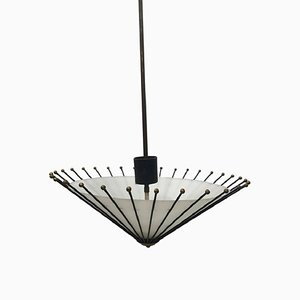 Mid-Century Ceiling Lamp by Angelo Lelli for Arredoluce, 1950s