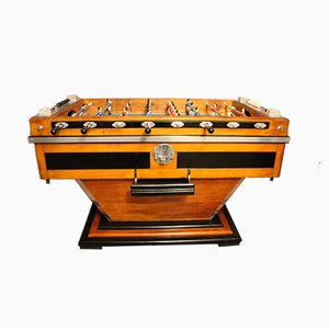 Vintage French Foosball Table, 1930s