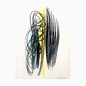 Lithographie par Hans Hartung, 1964
