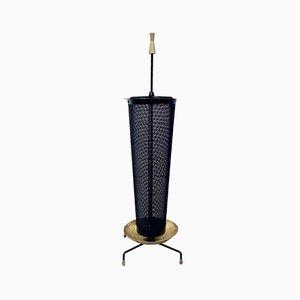 Vintage Brass Umbrella Stand, 1950s